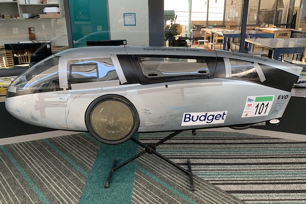 Kingswood College Human Powered Vehicle (HPV)